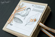 Science Nature Journal with hole punches