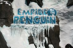 The all new Empire of the Penguin at SeaWorld on Virtually Yours