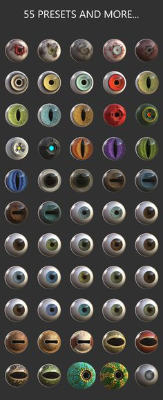 ATOMEYES Zmaker FREE Hello everyone, I am happy to share my Ztool with you. This package is free for use in commercial and personal projects. You are free to make any modifications necessary for integration into… Zbrush Tutorial, 3d Tutorial, Eye Texture, Kind And Generous, Blender Tutorial, Cartoon Eyes, Modeling Tips, Colouring Techniques, Blender 3d