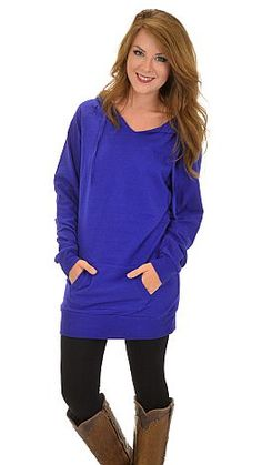 Best Ever Hoodie, Bright Royal :: NEW ARRIVALS :: The Blue Door Boutique