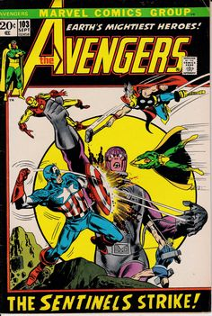 Avengers 103 September 1972 Issue  Marvel Comics  by ViewObscura