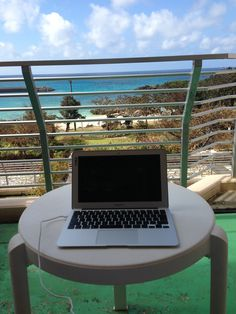 My favorite, but temporary, office