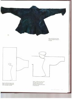 """Lizzie Houghton """"Felting Fashion"""" -- there's a pattern for that. Diy Clothing, Sewing Clothes, Clothing Patterns, Clothing Templates, Fashion Sewing, Diy Fashion, Felt Patterns, Sewing Patterns, Felting Tutorials"""