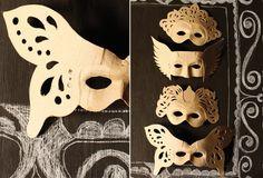 vintage paper mache masks - Google Search
