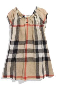 Burberry check dress