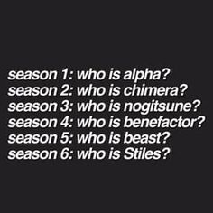 teen wolf, season 6, and stiles stilinski afbeelding