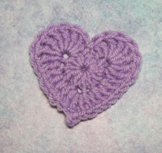 FREE PATTERN: Crocheted Love (chart too) More