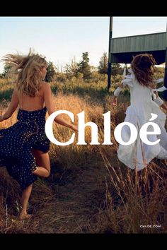 Chloe's new ad. Check out the best ads for Spring 2014 here!