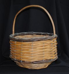 Pretty French Vintage Apple Basket For Sale at www.theoriginalfrenchfurniturecompany.com