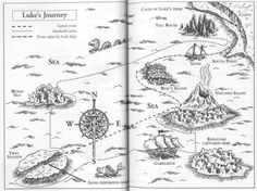 Map Of Redwall Abbey And Surrounding Countryside From