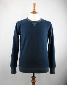 LEE 101 101 ORIGINAL SWEAT - BLUE DEPTHS