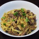Syn Free Tagliatelle with Steak & Mushroom Sauce