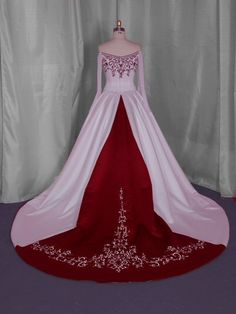 wedding dress with red - Bing Images