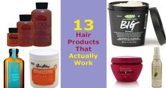13 Hair Products That Actually Work Aussie 3 Minute Miracle, Hair Repair, Diy Hairstyles, Hair Products, Your Hair, Shampoo, Conditioner, Health, Tips
