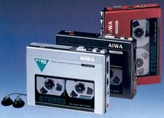 Or maybe this was the one that I had in silver. Aiwa HS-P05