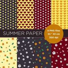 My Etsy Shop, How To Apply, Digital, Paper, Check, Summer, Summer Time, Summer Recipes
