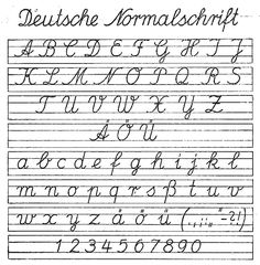 offenbacher schrift das lateinische alphabet ausgangsschrift wikipedia handwriting. Black Bedroom Furniture Sets. Home Design Ideas