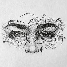 Dark Art Drawings, Pencil Art Drawings, Cool Drawings, Amazing Pencil Drawings, Amazing Sketches, Interesting Drawings, Eye Drawings, Unique Drawings, Tattoo Design Drawings