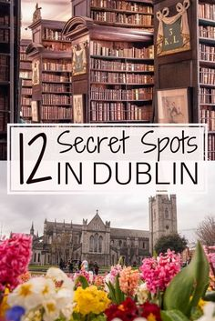 12 Unique & Secret Spots in Dublin You Must See Travel tips 2019 12 quirky, unique, offbeat and unusual things to do in Dublin, Ireland. Here are the very best secret spots in Dublin which you won't want to miss on any trip to the Irish capital! Ireland Travel Guide, Dublin Travel, Europe Travel Guide, Europe Destinations, Paris Travel, Italy Travel, Cool Places To Visit, Places To Go, Hostels