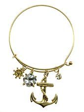 Womens Jewelry, Anchor, Gold Tone Metal Hook Bangle w/ Assorted Accents Crystal Accent Rhinestone Accent Anchor Gold Tone Metal Hook Bangle Assorted Accents - Materials: Metal - Length: Diamter: 2.5 Inch Unknown http://www.amazon.com/dp/B00WX6TCXK/ref=cm_sw_r_pi_dp_VZ7nwb0J5EYB3