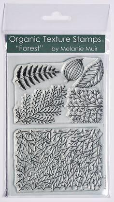 Timbre Texture organique / feuille - « Forêt »