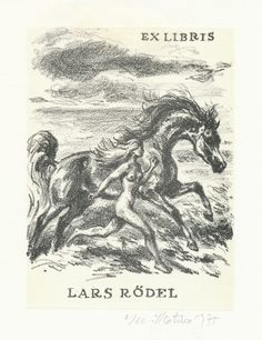 exlibris by Emil Kotrba for Lars Rödel