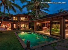 LHM Hawaii - Once in a lifetime a property of this magnificence comes along. This contemporary style oceanfront estate provides true, island living for the discriminating homeowner. In a secluded, gated community on Diamond Head Road, this is one of the most coveted locations on Oahu. Close to world-class restaurants and the very  …