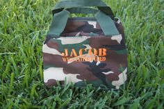 Personalized Boys Camo Insulated Lunch Box by CuteZTootZ on Etsy, $20.00