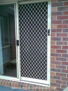 Atlas Swing Security Screen Door Yellow Dog Windows Inc