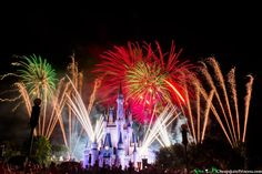 WDW fireworks Disney World Shows, Disney World Castle, Disney Castles, Walt Disney World, Sleeping Beauty Castle, Going On A Trip, Heart For Kids, American Pride, Beautiful Lights