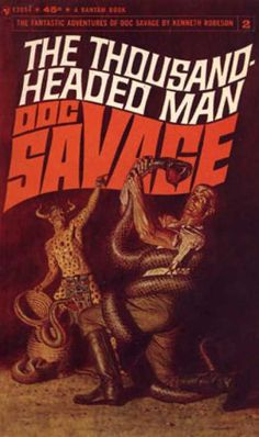 Another great Doc Savage cover by James Bama.