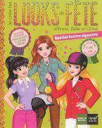 Je crée les looks de fête d'Emma, Zélie et Chloé : spécial centre équestre : une histoire à lire, 300 autocollants
