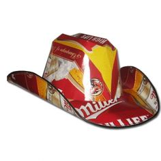 beer case cowboy hat instructions