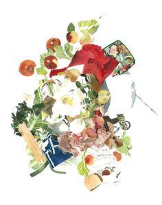 watercolor foods