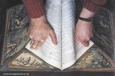 Gorgeous fore-edge painting