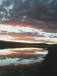 Lake Mary Flagstaff AZ Sunset Oak Creek Canyon Arizona, Places To See, Places Ive Been, Lake Mary, State Of Arizona, Past, Beautiful Places, Spaces, Mountains