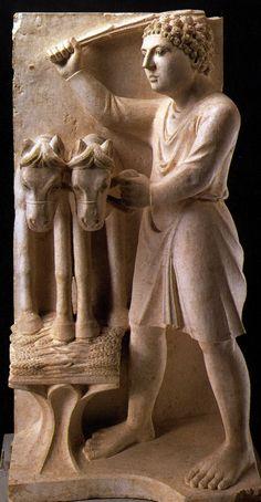 Luglio - Antelami (1150 ca-1230 ca) - Ciclo dei mesi - 1196-1216 - Battistero di Parma