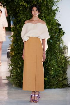 a favorite look from Delpozo