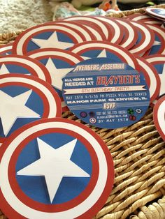 avengers assemble! party.  Great ideas with the Hulk punch (and display) and love the pennant banner for purchase