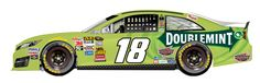 KYLE BUSCH IS LOSING HIS MOJO(Bad Brad is really making you look bad,bro!)BUT YOUR PAINT SCHEME ISN'T HELPING YOU(you know green is bad luck in racing?)JGR needs speed,And maybe a relations counselor fer Carl Edward>>Matt Kenseth and Kyle Busch>>with everybody he races,ha,ha!!