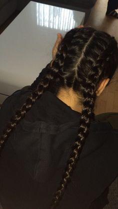 brown, hairs, and brown hairs image - Braun, Haare und braune Haare B Headband Hairstyles, Pretty Hairstyles, Braided Hairstyles, Wedding Hairstyles, Casual Hairstyles, Bad Hair, Hair Day, Brown Hairs, Hair Inspo