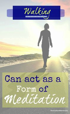 Walking can act as a form of meditation #walkingtips #walkingfitness #fitbit