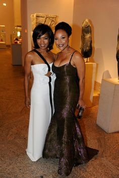 Angela Bassett and Lynn Whitfield
