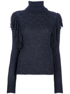 JOSEPH Fringed Sweater