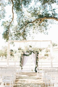 Petal covered ranch wedding ceremony //.stylemepretty.com/  sc 1 st  Pinterest & pinterest wedding doors - Yahoo Search Results Yahoo Image Search ...