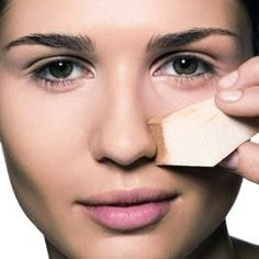 Right shade of concealer not only hides the unbalanced skin but also adds glow to face. So, while picking up a concealer, go for a right shade to suit your skin tone. Beauty Makeup, Eye Makeup, Hair Makeup, Hair Beauty, Makeup Tricks, Eye Tricks, Makeup Ideas, Makeup Remover, Makeup Brushes