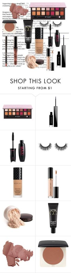 """Fall Beauty #1"" by laughlikecrazy on Polyvore featuring beauty, Anastasia Beverly Hills, Givenchy, Gucci, Too Faced Cosmetics, Laura Mercier and MAC Cosmetics"