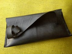 CURless  inner tube rubber clutch bag by artikultcat on Etsy €35.00