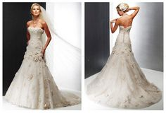 My dream wedding dress... i tried it on over 3 years ago and still want it to this day!!!