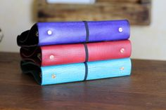 A5/Half Sheet Leather Planners from The Leather Quill Shoppe